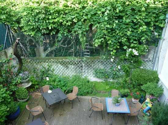 Hotel Mirabeau: vue sur le jardin