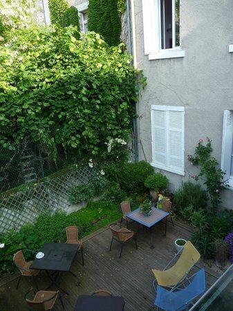 Hotel Mirabeau: le jardin