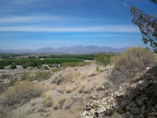 Las Cruces KOA: View from campground