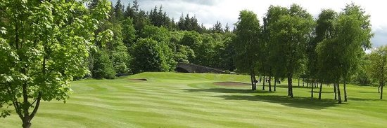 Newbattle Golf Club: view from 2nd fairway