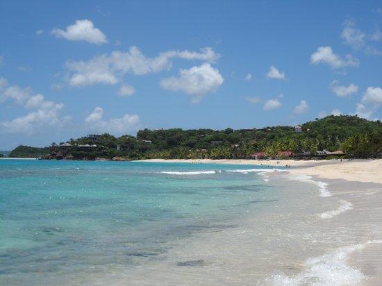 Galley Bay Resort: The beach