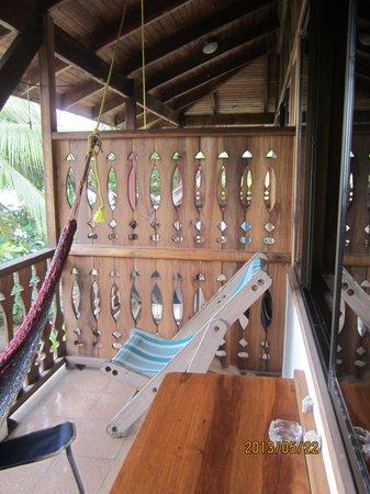Jenny's Cabinas: Lovely deck