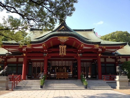 Nishinomiya, Japan: main hall