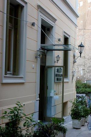 Hotel Acropolis House: L'entrata dell'albergo