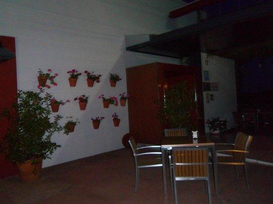 Mirador de Montoro: zona para cenar al aire libre, es muy bonita