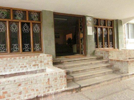 Hotel Mayura Bhuvaneshwari Kamalapur: Entrance