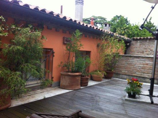 Avanguardia Luxury Rooms & Suite: terrace