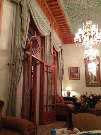 Ryad Dar Karima : dining area