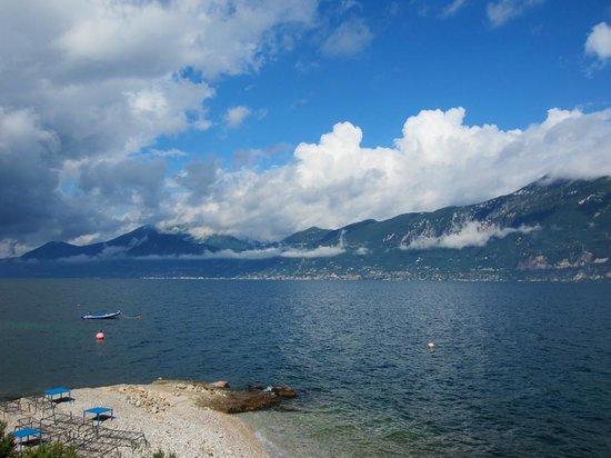 La Caletta Bolognese : Toller Blick auf den See