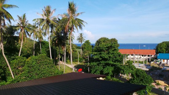 Baan Suan Ta Hotel: Aussicht vom Zimmer 14