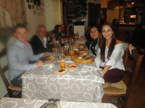 El gaucho: Cena en Familia!!