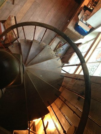 Walcot Hall: Spiral Staircase