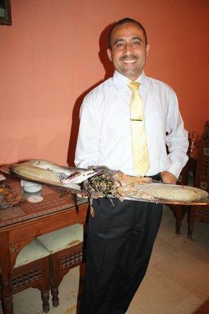 Dananeer: The lovely Mohamed! (& the 'fresh catch of the day')