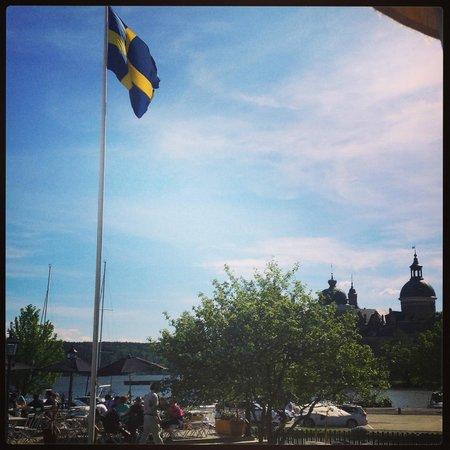 Gripsholms Vardshus and Hotel: Utsikt från rummet.