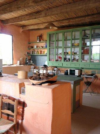 Le Mas de Barbut : Cuisine annexe