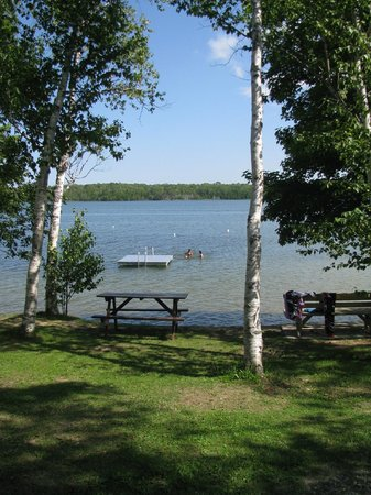 Miller's Family Camp: swimming area