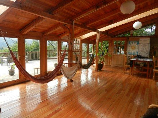 yoga room - Picture of Black Sheep Inn Ecolodge, Chugchilan ...