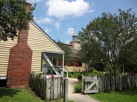 Acadian Cultural Center: Village Church
