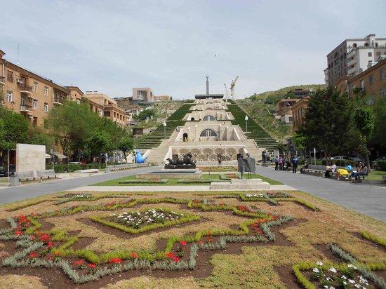 Yerevan Cascade : Die Kaskade mitten in der Stadt