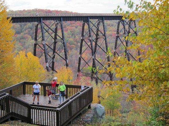 Allegheny National Forest Visitors Bureau: Kinzua Bridge State Park