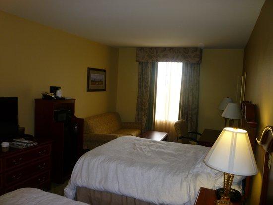 Hampton Inn Charleston - Historic District: King bed room, 3rd-4th floor
