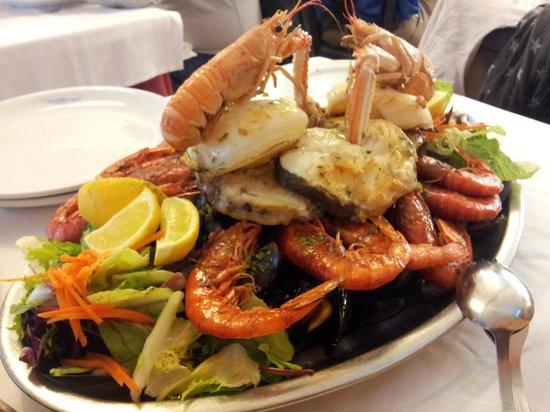 Toc de Mar : grigliata di pesce