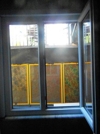 Vezir Hotel: vue de la fenetre