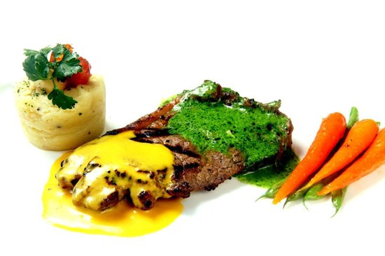 Root & Branch : rainbow sirloin steak