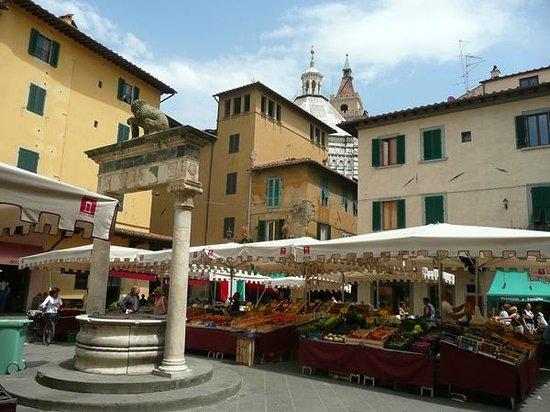 Apartments in Pistoia : Piazza della Sala