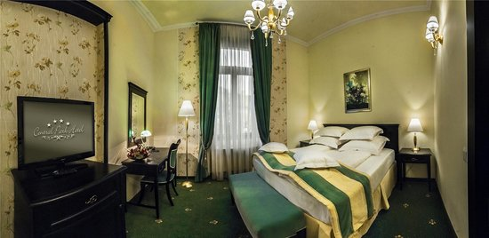 Hotel Central Park: Room with a view to the Clock Tower