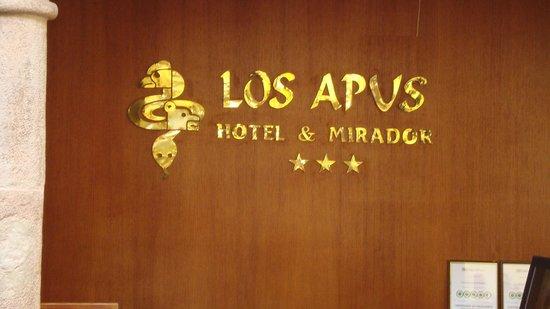 Los Apus Hotel & Mirador: Reception