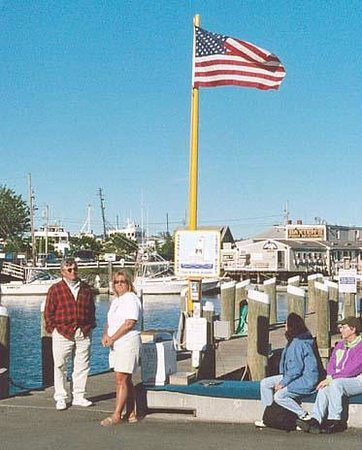 View From Our Sail Picture Of Catboat Rides Hyannis TripAdvisor