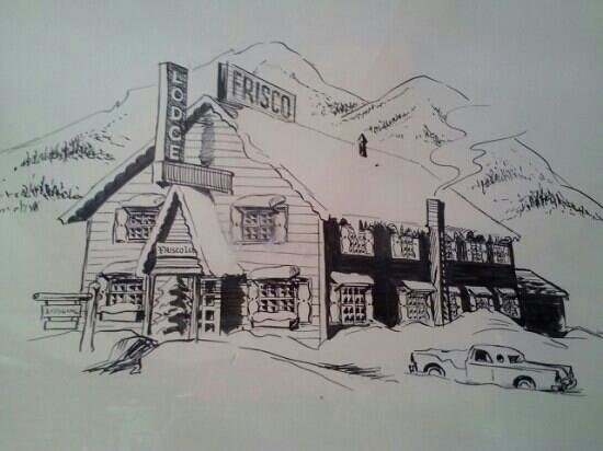 Frisco Lodge: old photo