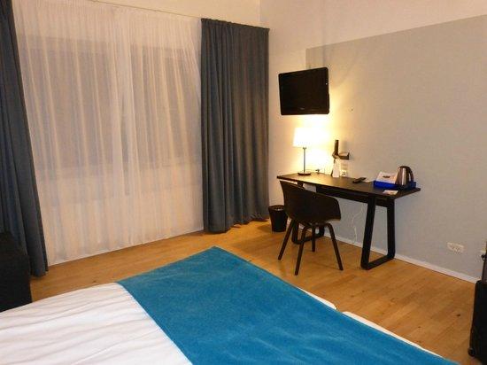 DGI-byens Hotel : geräumiges Zimmer!