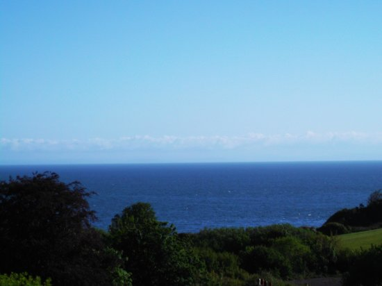 Laston House : Sea view from our room