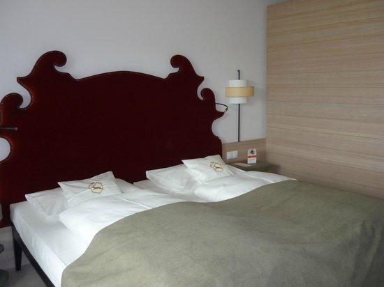 Travel Charme Ifen Hotel: unser Bett