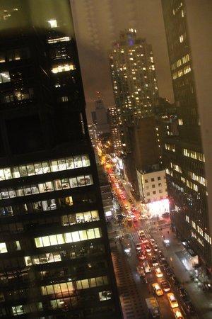 Sheraton New York Times Square Hotel: vue de nuit