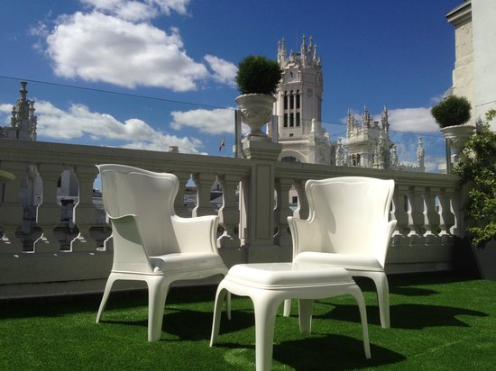 Terraza Chill Out Fotografía De Luxury Suites Madrid
