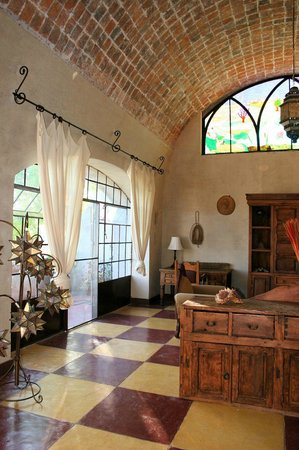 Hacienda Las Trancas: Suite Sala with three terraces and two bathrooms