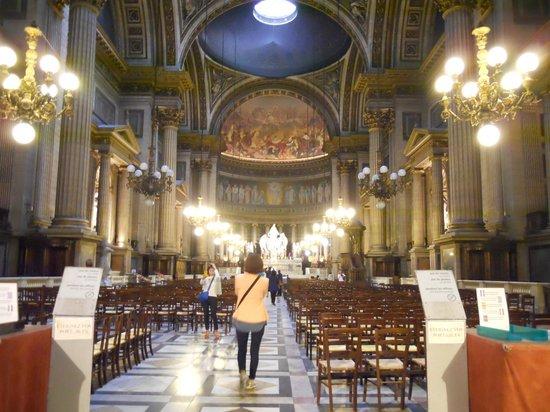 interior iglesia picture of place de la madeleine paris tripadvisor. Black Bedroom Furniture Sets. Home Design Ideas