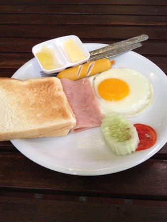 Minitel Hotel: American Breakfast ;-)