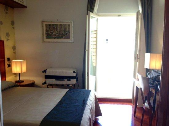Hotel delle Nazioni: Standard Room - small but beautiful private terrace