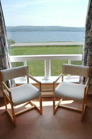 Cabot Trail Motel: View from the 40's Unit