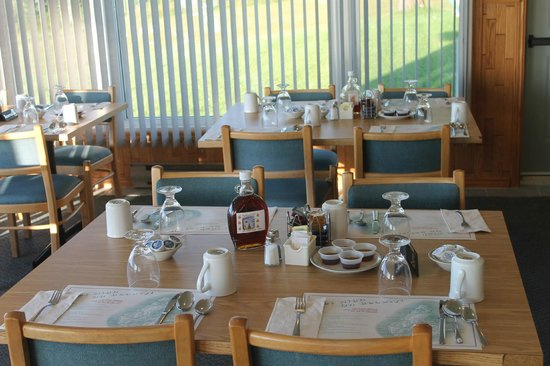 Cabot Trail Motel : Diningroom