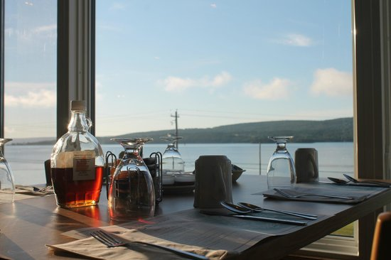 Cabot Trail Motel : View from Diningroom