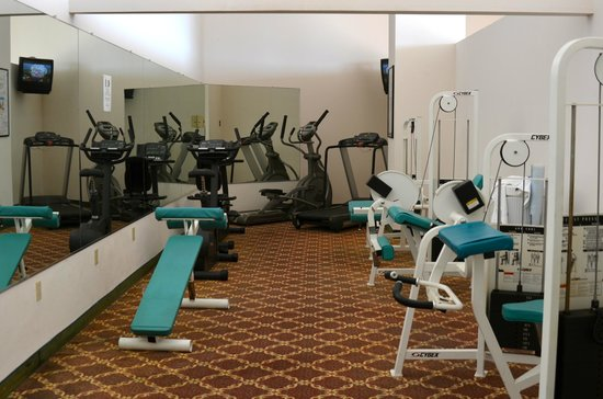 Grand Hotel & Spa: Exercise room at the Grand Hotel