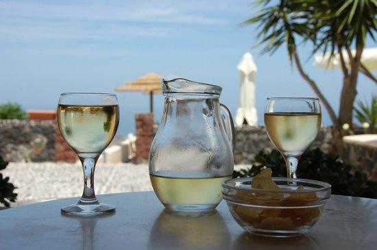 Anemoessa Villa: un bon moment sur la terrasse
