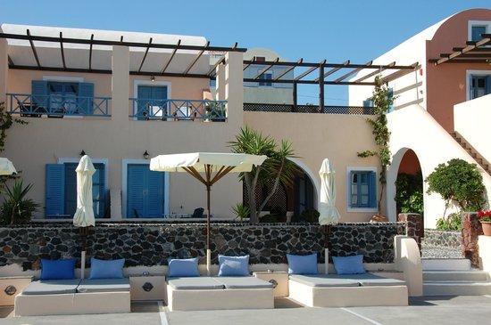 Anemoessa Villa: vue de l'hôtel