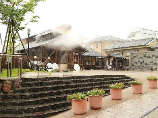 Kannawa Onsen : 地獄蒸し工房