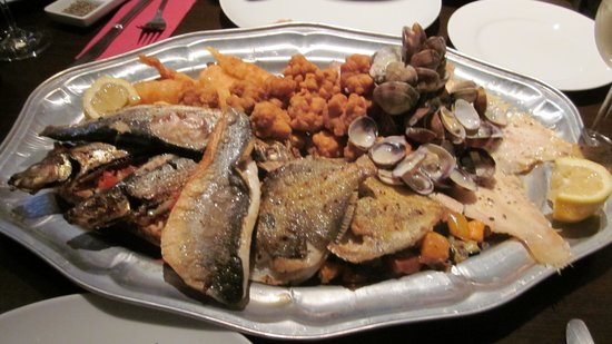 Chimes Of St James: Fish Platter ordered in advance